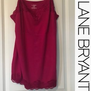 LANE BRYANT Lace Camisole
